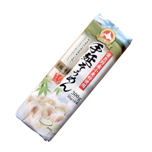 愛知-葵フーズ-北の恵み 富良野産小麦粉使用 手延そうめん